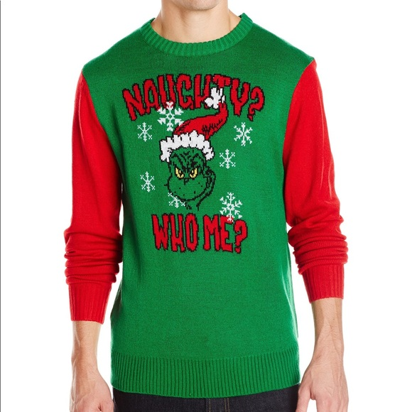 Grinch Christmas Sweater.The Grinch Ugly Christmas Sweater